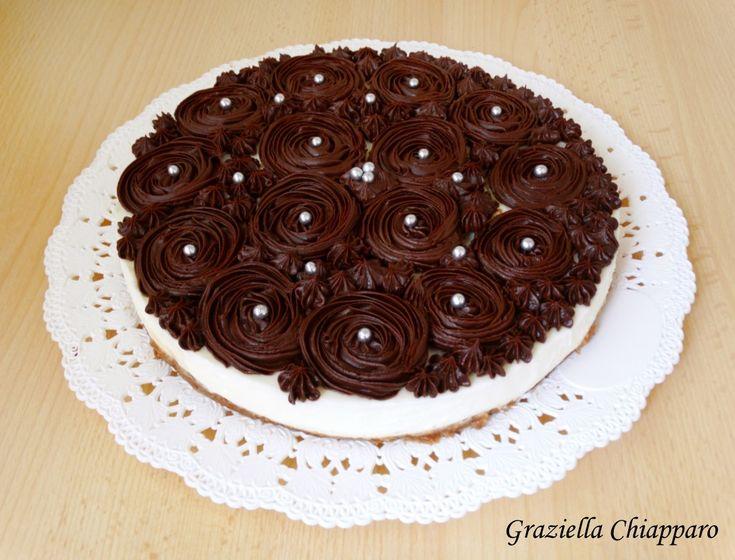 Cheesecake al mascarpone e cioccolato fondente   Ricetta