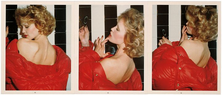 Red Coat Series : Jessica Lange, Paris, 1974