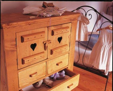 Sympaattinen lipasto on saanut uuden ilmeen ja elämän lastenhuoneessa! Käsittely on tehty Libéron Mehiläisvahalla. http://colornova.fi/