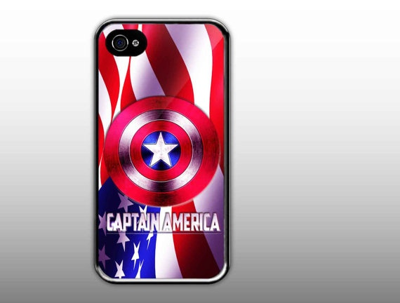iPhone 4/4s Case   Captain America Shield Logo by NewCaseDesign, $15.50