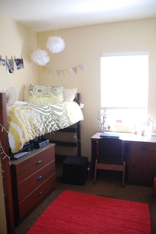 University of Alabama... This looks like our dorm room. I figured we needed a visual to plan!