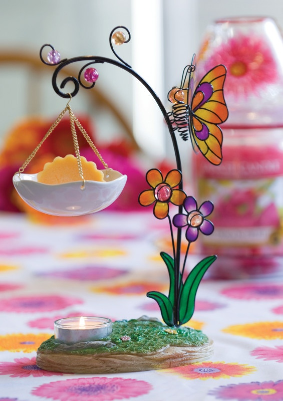 Image detail for -Yankee Candle Butterfly Tart Burner :: Yankee Candles, Yankee Candle ...