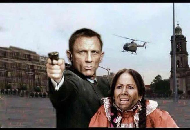 Los mejores memes de la filmación de la nueva película de James Bond en México