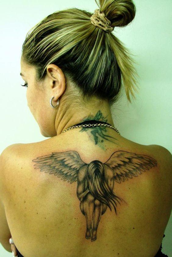 Anjo tattoo. samanta - 60 Holy Angel Tattoo Designs