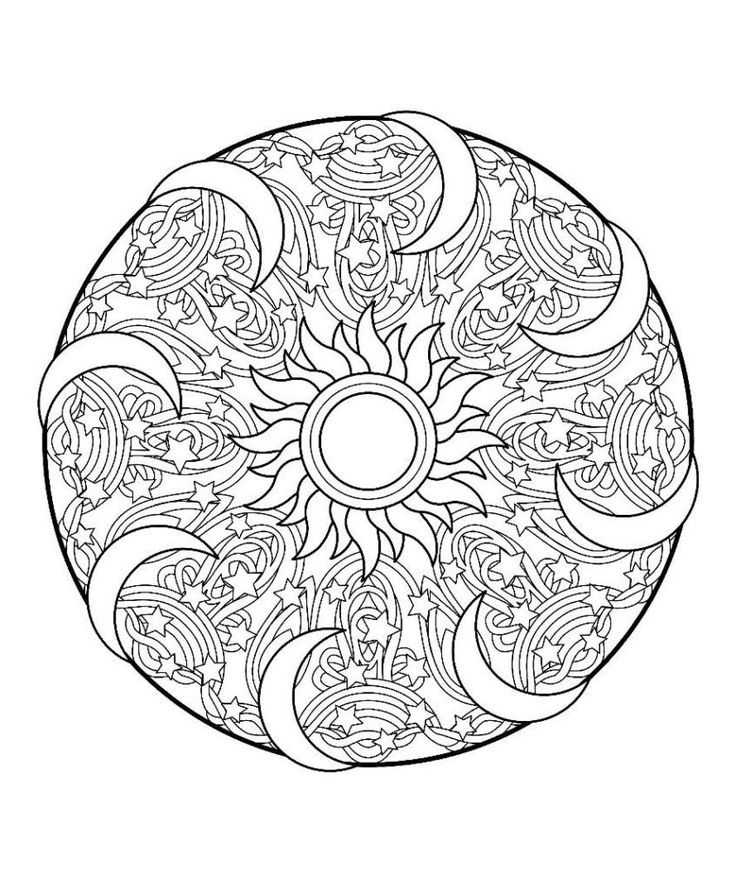 mandala coloring pages for teens coloring books animal