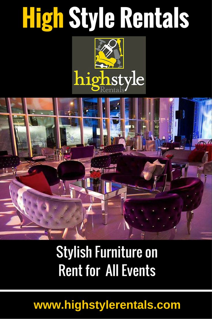 Creative Use of #Furniture Designs for the Perfect #EventParties