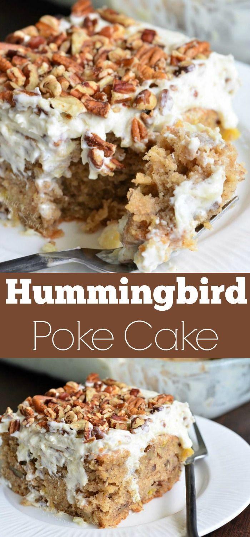 Kolibri-Sack-Kuchenrezept. Einfache Version eines Kolibri-Kuchens ist so einfach und … – poke cake, blechkuchen