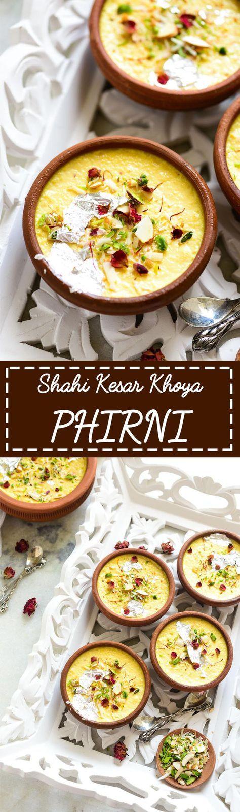 Shahi Kesar Khoya Phirni
