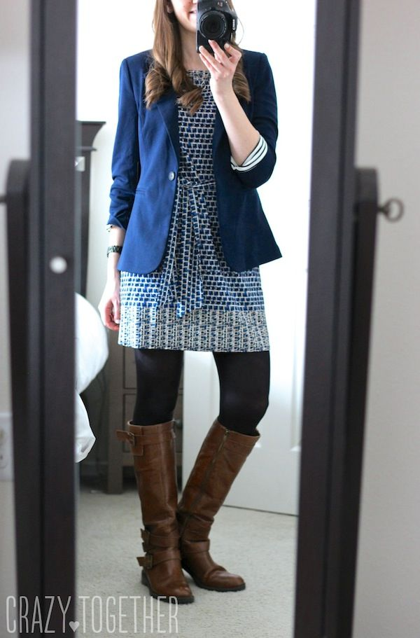 Kerri Abstract Print Sheath Dress from Leota and Benson 3/4 Ruched Sleeve Blazer from 41Hawthorn - Love this Stitch Fix dress!