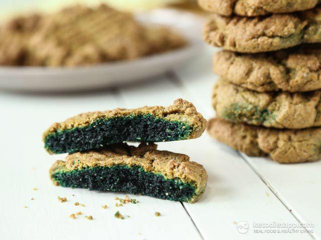 5 Ingredient Keto Green Cookies