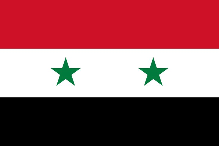 Flag of Syria - Gallery of sovereign state flags - Wikipedia, the free encyclopedia