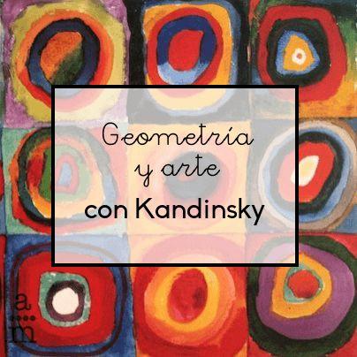 Geometría y arte siempre han estado estrechamente relacionados. Veremos cómo trabajar simultáneamente arte y matemáticas a través Kandinsky.