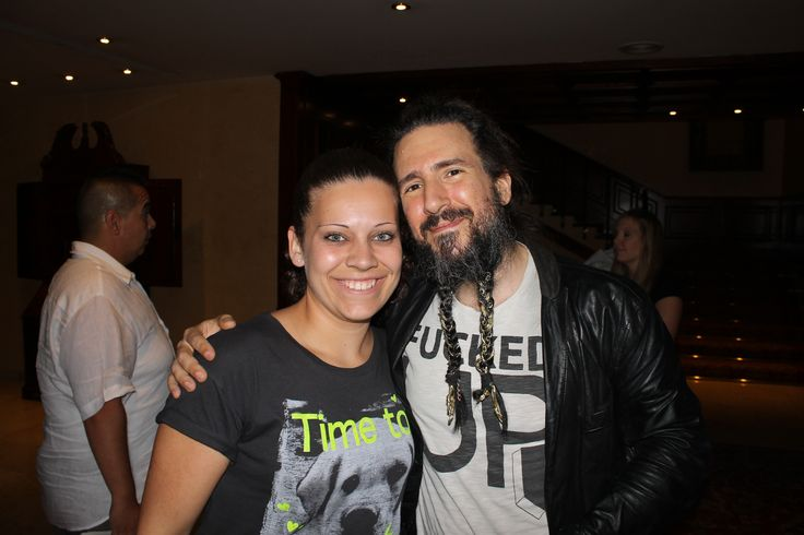 Mar Sastre and Ron Thal