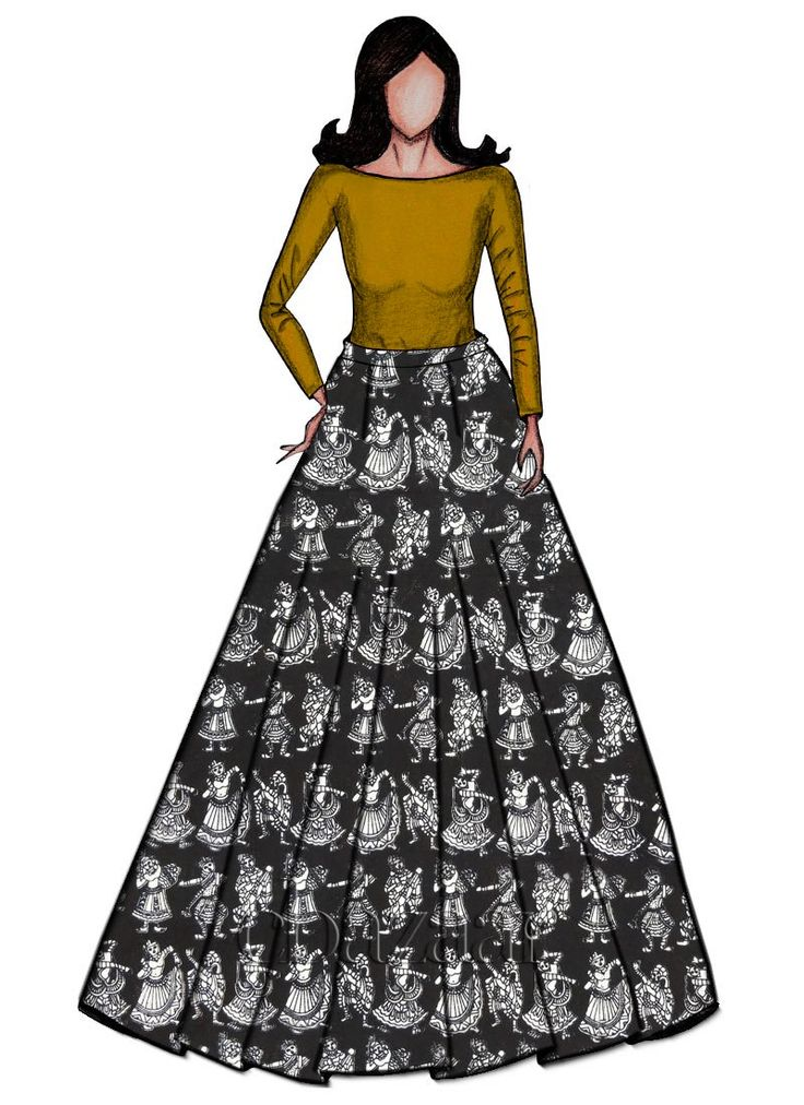 Buy Golden Yellow Croptop N Black Kalamkari Skirt set online, SKU Code: IWBS1802382. This Black color After Six indowestern sets and suits for Women comes with Printed Supernet Cotton . Shop Now!