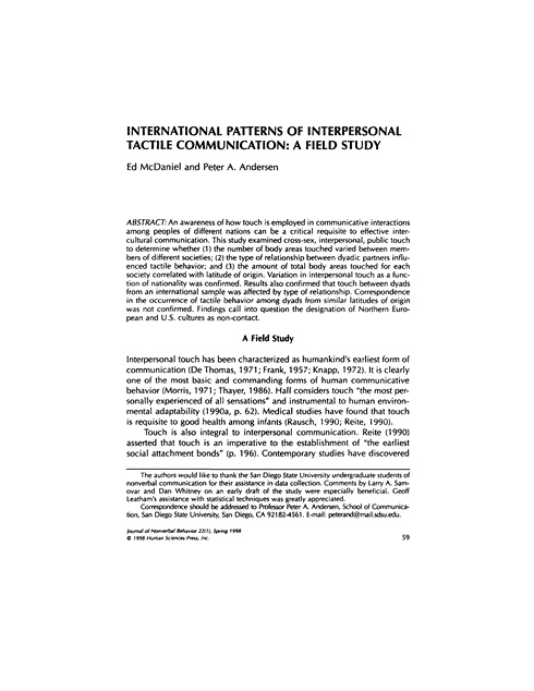 an analysis of interpersonal communication What kind of interpersonal communication is most effective in accomplishing major change 23 diffusion theory emphasizes why channels of interpersonal.