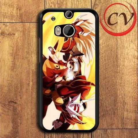 Digimon HTC One M8 Black Case