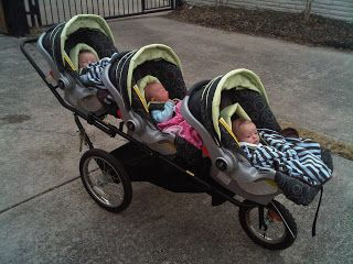 triplet stroller - Google Search