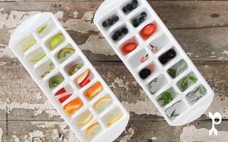 Cubetti di ghiaccio alla frutta | Fruits ice cubes
