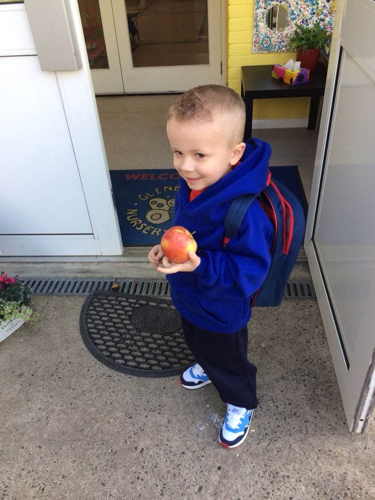 First day at nursery