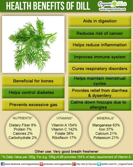 The health benefits of dill include good digestion, relief from insomnia, hiccups, diarrhea, dysentery, menstrual disorders, respiratory disorders, cancer, etc. It is also good for oral care.