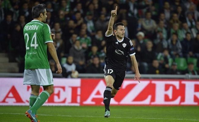 Fantastyczny lob Vuqara Nadirova • Liga Europejska • AS Saint Etienne vs Qarabag Agdam • Piękny gol Nadirova w Lidze Europy • Zobacz >>