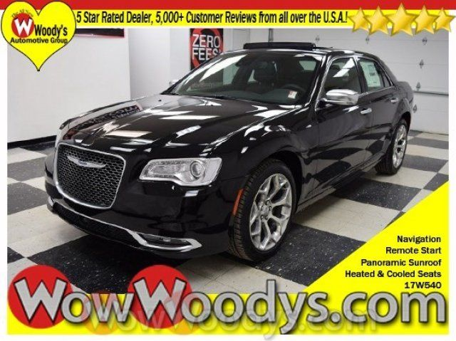 """What year did they start making the Chrysler 300? Officially offered for sale on February 10, 1955, the first Chrysler 300 was athletic-looking, but it didn't have a letter at the end of its name.  This 2017 Chrysler 300 C Platinum 5.7L V8 HEMI with Leather Heated and Cooled Seats, Sunroof, Navigation, and Harman Kardon Sound System! Chromed out with 20"""" wheels! You cannot get a better looking car! Visit our website to check out all our other Chrysler 300's..."""