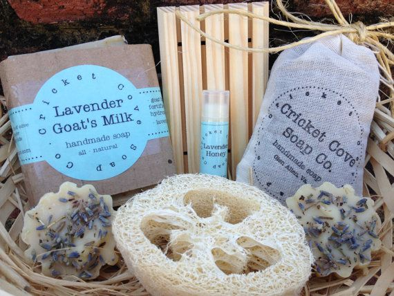 Gift Basket Lavender Lover S Handmade Soap