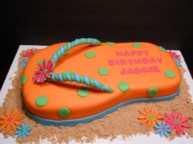 flip flop cake ideas | New Cake Ideas