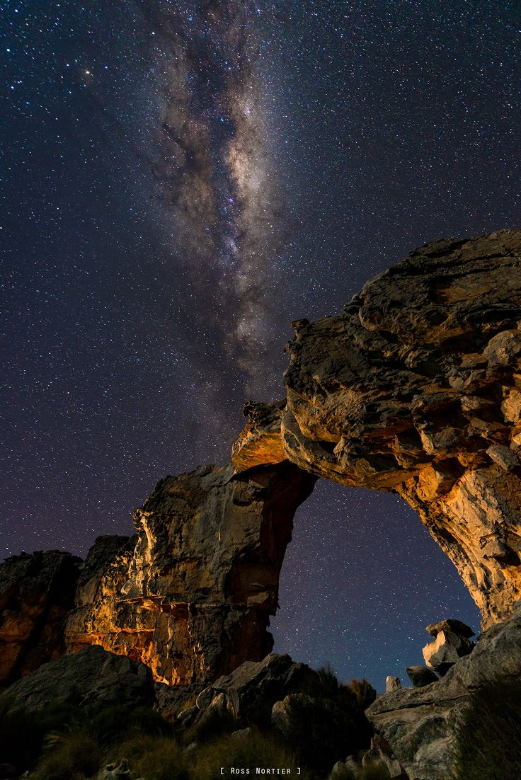 Cederberg night sky. by Ross Nortier on 500px
