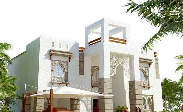 Modern Contemporary Arabic Architecture Villa Ideas For