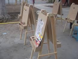 Resultado de imagen para como hacer caballete de madera para pintar