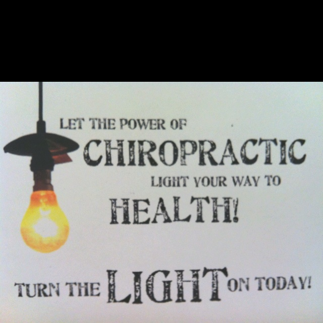 Turn the light on today. Raya Clinic- Chiropractic, Nutrition, Acupuncture, Spinal Decompression and more 860.621.2225