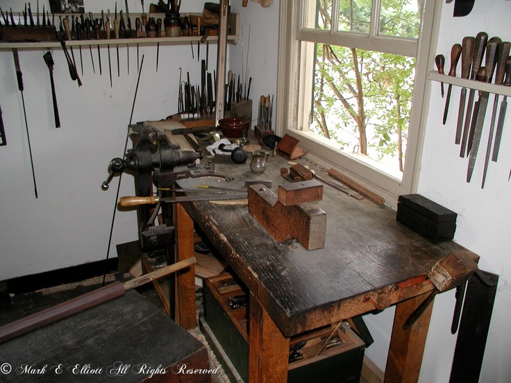 His Gunsmith Area Man Cave Reloading Room Tool Bench