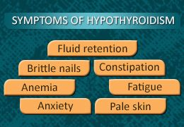 Symptoms of Low Thyroid Levels
