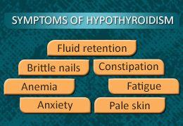 Symptoms of Low Thyroid Levels