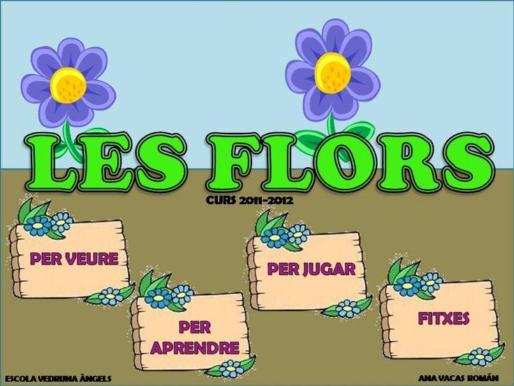 Projecte realitzat pels alumnes de P3 sobre les flors. http://vedruna-angels.org/blocs/infantil/80/files/projectes/p3/projectelesflors/Projecte/powerhtml/power1.html