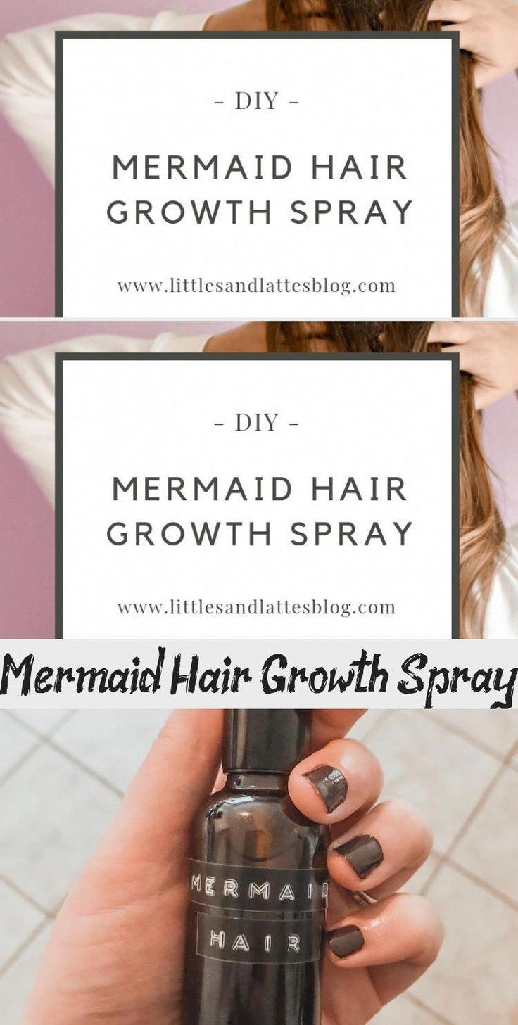 mermaid hair growth spray, diy essential oil recipe for