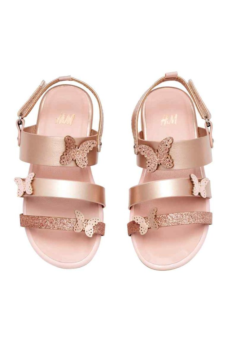 Butterfly sandals - Rose gold - Kids | H&M GB 1