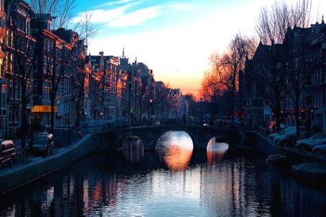 Sunset in Amsterdam: Beautiful Bridges, Paris, New Home, Heart, Beautiful Places, Inspiration Pictures, Places I D, Hot Chocolates, Beautiful Amsterdam