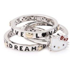 I found 'Hello Kitty Diamond Dream Stack Rings' on Wish, check it out!