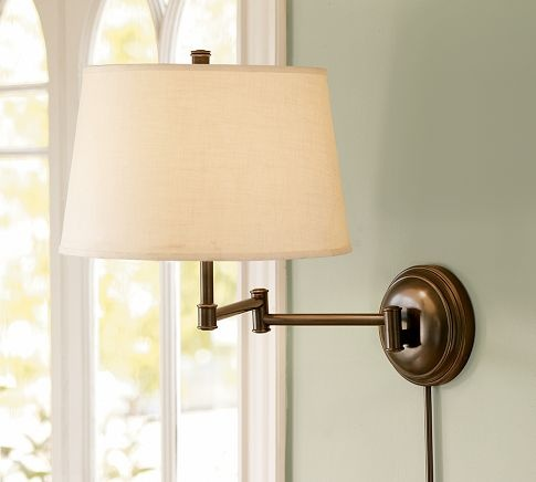 Wall Lamps Pottery Barn : 17 Best images about i love lights on Pinterest Traditional, Chandelier lighting and Polished ...