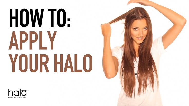 How easy is it to apply Halo Hair Extensions?