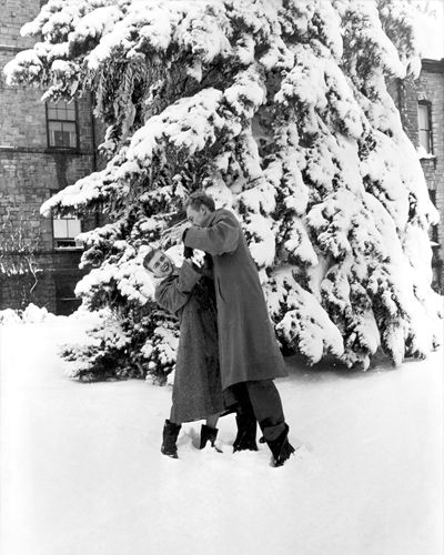 Augustana Cheerleading: 1940s Couple At Augustana College
