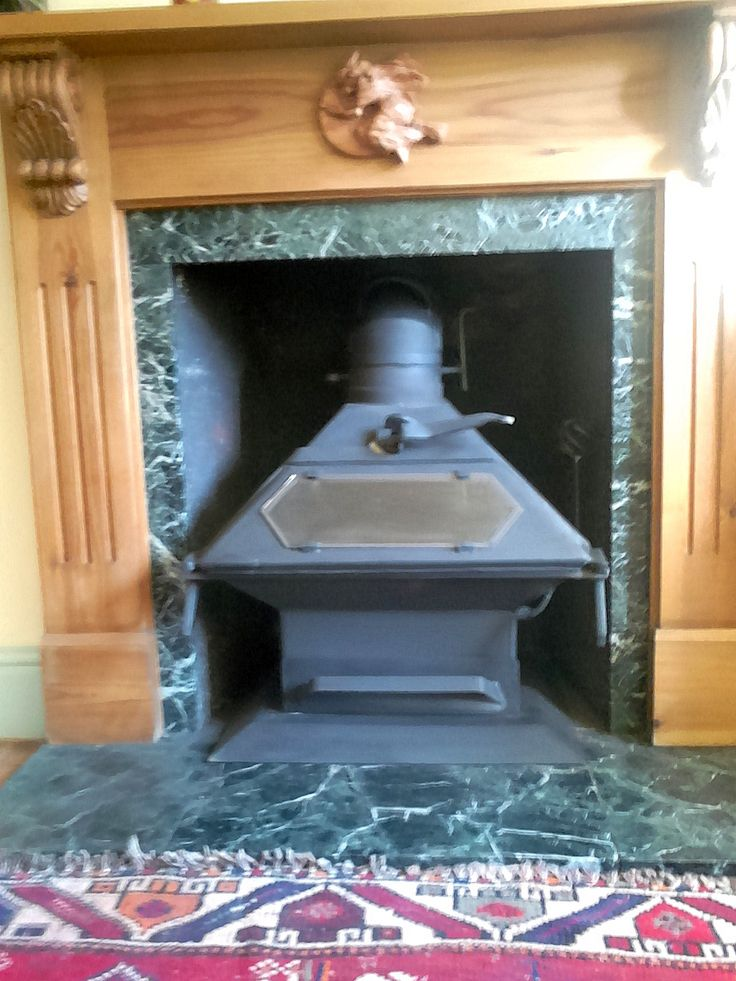 """A Dowling Sumo newly installed in a lovely fireplace in Newlyn, and lovely message from it's new owner """"At last yesterday your lovely stove was installed and I'm so pleased. It burns really well and I'm sure it'll keep us warm and toasty for years to come. Thanks again for all your help."""" Thank you Anne for your custom."""