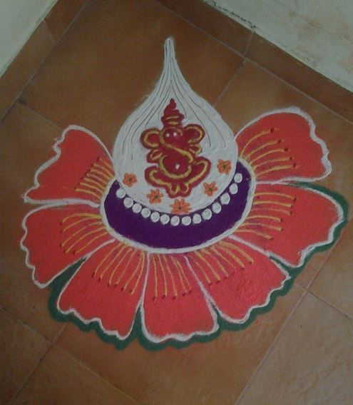 31 best rangoli images on Pinterest | Rangoli ideas ...