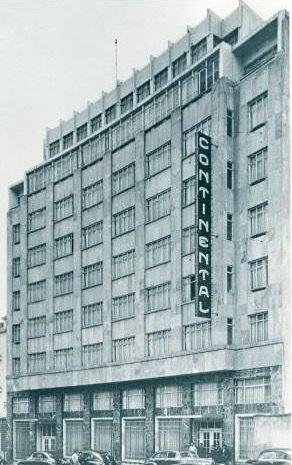 Hotel Continental de Bogotá a finales de los años 40s.
