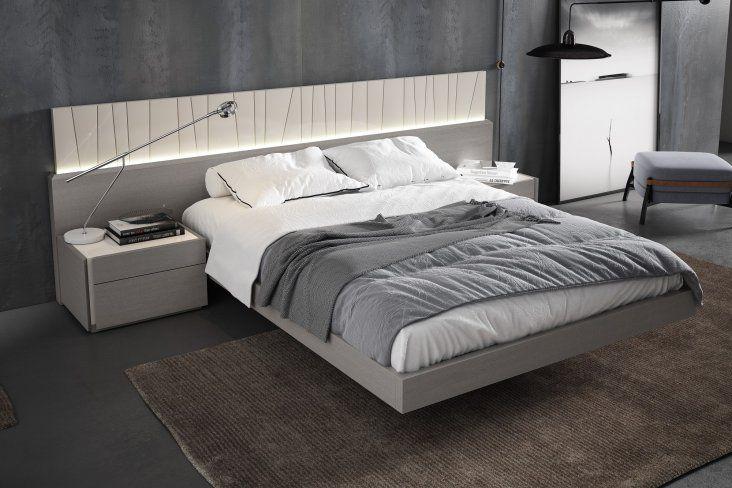 Porto Premium Bedroom Set In Grey Modern Bed Bedroom Bed Design Grey Bedroom Furniture