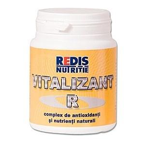 Vitalizant R este un complex alimentar care contine antioxidanti cu structuri chimice diferite si nutrienti naturali.  O cutie contine 100 tablete.