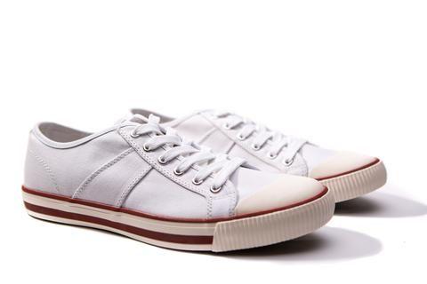 US Rubber Company Harry Lew Signature 1902 Classic Vintage Sneaker White Smoke