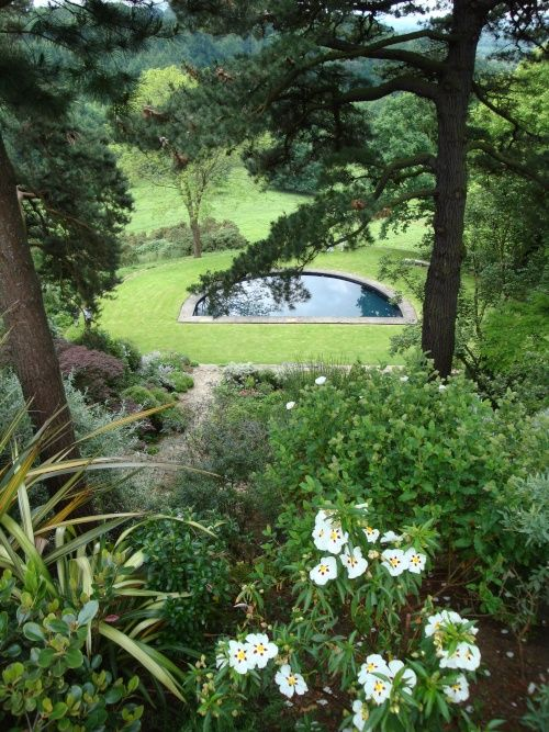 Kiftsgate Court Gardens i Gloucestershire